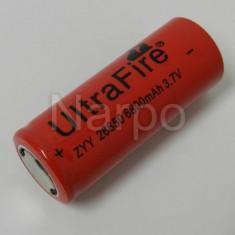 Acumulator Li-ion UltraFire 26650 LC26650 3.7V - Baterie Aparat foto, Dedicat