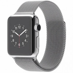 Smartwatch Apple Watch 38 mm Steel Case Milanese Loop