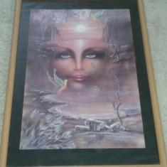 Tablou Poster Art Nouveau WIZARD & GENIUS 1986