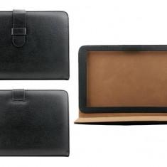 Husa tableta OEM BTUNI8NEG neagra universala 8 inch