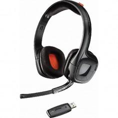 Casti gaming Plantronics Gamecom 818 Wireless Black - Casca PC