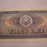 3 lei 1966 UNC - Bancnota romaneasca