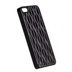 Husa protectie pentru spate KRUSELL 89749 Bioserie Alucover neagra pentru Apple iPhone 5 - Husa Telefon Krusell, iPhone 5/5S/SE