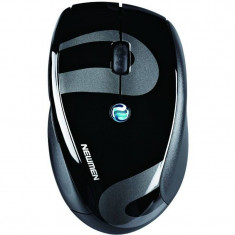 Mouse wireless Newmen F580 1600 dpi Black, Optica