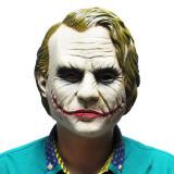 Masca latex Joker film Batman DC Comics Halloween petrecere tematica +CADOU!, Marime universala