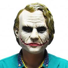 Masca latex Joker film Batman DC Comics Halloween petrecere tematica +CADOU!, Marime universala, Din imagine