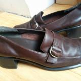 Pantofi din piele marimea 39, purtati o singura data!