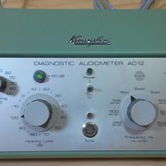 Audiometru Audiometer generator sunet audio Timpanometru Impedancemetru medicina - Aparat monitorizare
