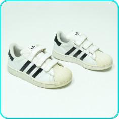 DE FIRMA → Adidasi originali, piele, calitate ADIDAS → fete, baieti | nr. 30,5, 30.5, Alb