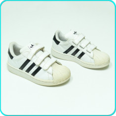 DE FIRMA → Adidasi originali, piele, calitate ADIDAS → fete, baieti | nr. 30, 5 - Adidasi copii, Culoare: Alb, Piele naturala