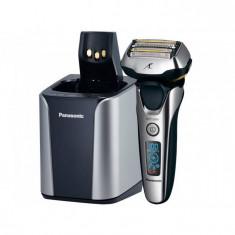 Aparat de ras electric Panasonic ES-LV9N-S803 autocuratare 5 lame Argintiu, Numar dispozitive taiere: 3