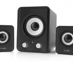 Sistem audio 2.1 Logic LS-20 Black - Boxe PC