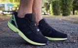 Adidasi Originali Adidas ZX Flux, Autentici, Noi, Marime 42 2/3 !, Textil