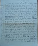 Manuscris Fanus Neagu ;  2 pagini scrise si semnate olograf , articol sportiv