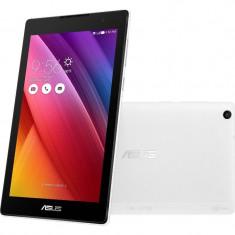 Tableta Asus ZenPad C 7.0 Z170CG-1B043A 7 inch Intel Atom X3-C3200 Quad Core 1GB RAM 16GB flash WiFi GPS 3G Android 5.0 White, Wi-Fi + 3G