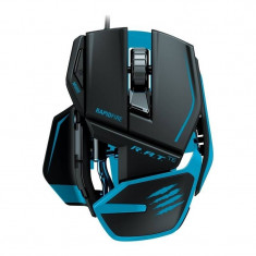 Mouse gaming Mad Catz R.A.T. TE Tournament Edition black blue, USB, Laser