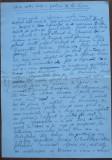 Manuscris Fanus Neagu ; Sub un castan dintr-o gradina de la Sosea , 2 pagini