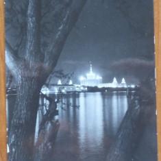 Carte postala cu o poezie scrisa olograf si semnata de Eugen Boureanu