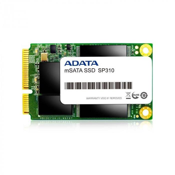 SSD ADATA Premier Pro SP310 128GB mSATA SATA-II MLC Box foto mare