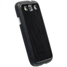 Husa protectie pentru spate Krusell 89748 Bioserie Alucover neagra pentru Samsung Galaxy S3 i9300 - Husa Telefon