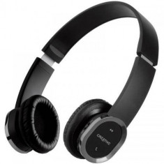 Casti Creative Over-Head WP-450 Bluetooth Black, Casti On Ear, Active Noise Cancelling