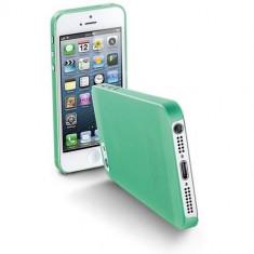 Husa Protectie Spate Cellularline Verde pentru Apple iPhone 5s, iPhone SE - Husa Telefon CellularLine, iPhone 5/5S/SE