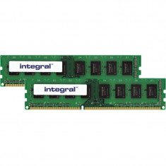 Memorie Integral 4GB DDR3 1333 MHz CL9 R1 Unbuffered Dual Channel Kit - Memorie RAM