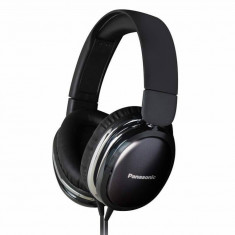 Casti Panasonic RP-HX350E-K black, Casti On Ear, Cu fir, Mufa 3, 5mm, Active Noise Cancelling