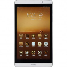 Tableta Huawei MediaPad M2 801W 8.0 inch IPS Kirin 930 2.0 GHz Octa Core 2GB RAM 16GB flash WiFi Android 5.1 Silver White, 8 inch