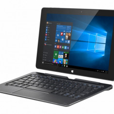 Tableta Kiano Intelect X1 HD 10.1 inch Quad-Core 1.4 Ghz 2GB RAM 32GB flash WiFi black, Windows 10