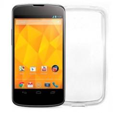Husa Protectie Spate Celly GELSKIN287 transparenta pentru LG Nexus 4 - Husa Telefon