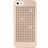 Husa Protectie Spate White Diamonds 86788 The Rock aurie pentru Apple iPhone 5 / 5S