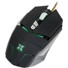 Mouse gaming X by Serioux Devlin, USB, Optica