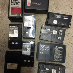 Lot 10 acumulatori aparate foto - Baterie Aparat foto