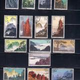 CHINA,PRC - 1963  Michel 744 - 759 - SERIE COMPLETA STAMPILATA