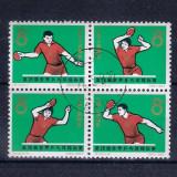 CHINA,PRC - 1965  Michel 864 - 867 - SERIE COMPLETA STAMPILATA