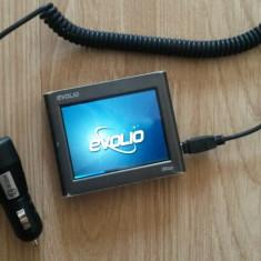 GPS Evolio iMap E-300 cu ÎNCĂRCĂTOR AUTO, 4, 3, Romania, Car Sat Nav, Sugestii multiple de cai: 1, Incarcator auto: 1