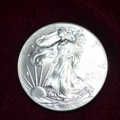 MONEDA - ONE DOLLAR - ARGINT 999 - Liberty - 1oz Fine Silver -31.1gr. -Am 77buc, Monede