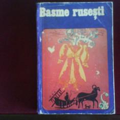 Basme rusesti, traducere Iulian Vesper - Carte Basme