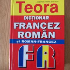 DICTIONAR FRANCEZ ROMAN SI ROMAN FRANCEZ de buzunar- 2008, CARTONATA