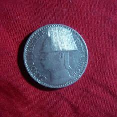 Moneda 50 lei 1937 Carol II, nichel, cal. aproape NC - Moneda Romania