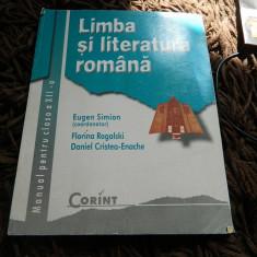 Manual de limba si literatura romana, clasa a XII-a, Ed. Corint, E. Simion - Manual scolar corint, Clasa 12