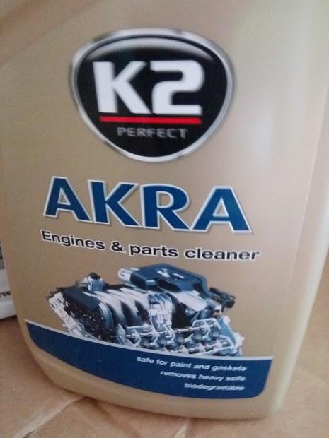 Solutie Auto Curatare Motor pe Exterior K2