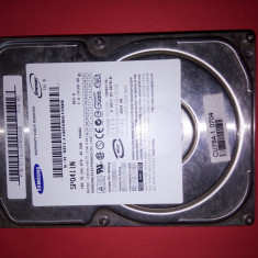 HDD 40 GB / Hard disk 3.5 inch IDE 40GB Samsung SP0411N - 100% functional, 40-99 GB