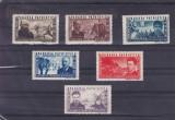ROMANIA  1945 , LP 168 , APARAREA PATRIOTICA SERIE MNH, Nestampilat