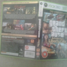 Grand Theft Auto - Episodes from Liberty City - GTA - XBOX 360