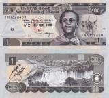 ETIOPIA 1 birr 2006 UNC!!!