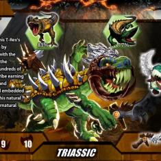 Micro Predasaurs - seria Insect Invasion - 01. REXOR - Figurina Dinozauri Altele, Unisex