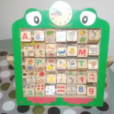 Numaratoare cu litere, cifre si ceas - Jocuri Litere si Cifre