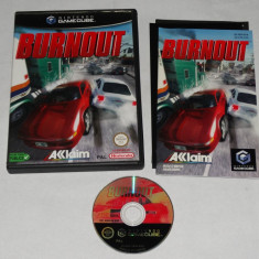 Joc consola Nintendo Gamecube - Burnout Altele, Sporturi, Toate varstele, Single player